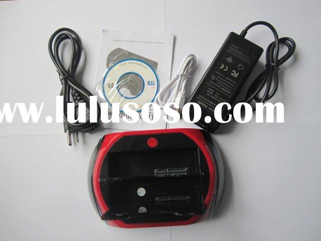 2 SATA HDD hard drive to USB eSATA Dock Docking Station
