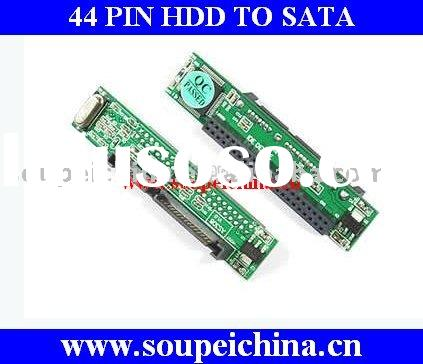 44-Pin IDE HDD to SATA Adapter