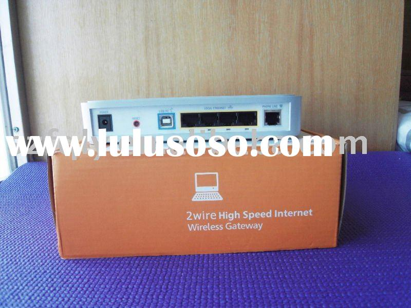 54Mbps 802.11B/G 4 Port Wireless ADSL Modem Router
