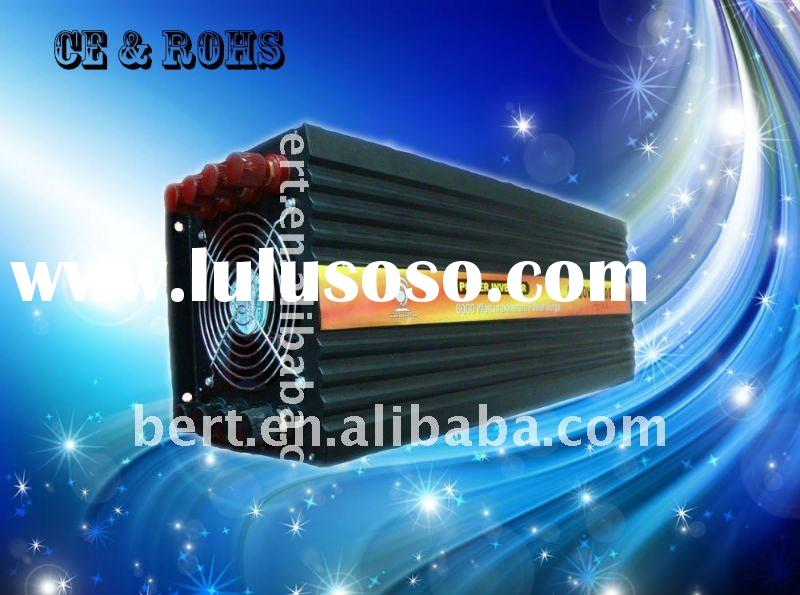 6000w DC24v/AC100v Pure Sine Wave Power Inverter,Factory Straight Sell !