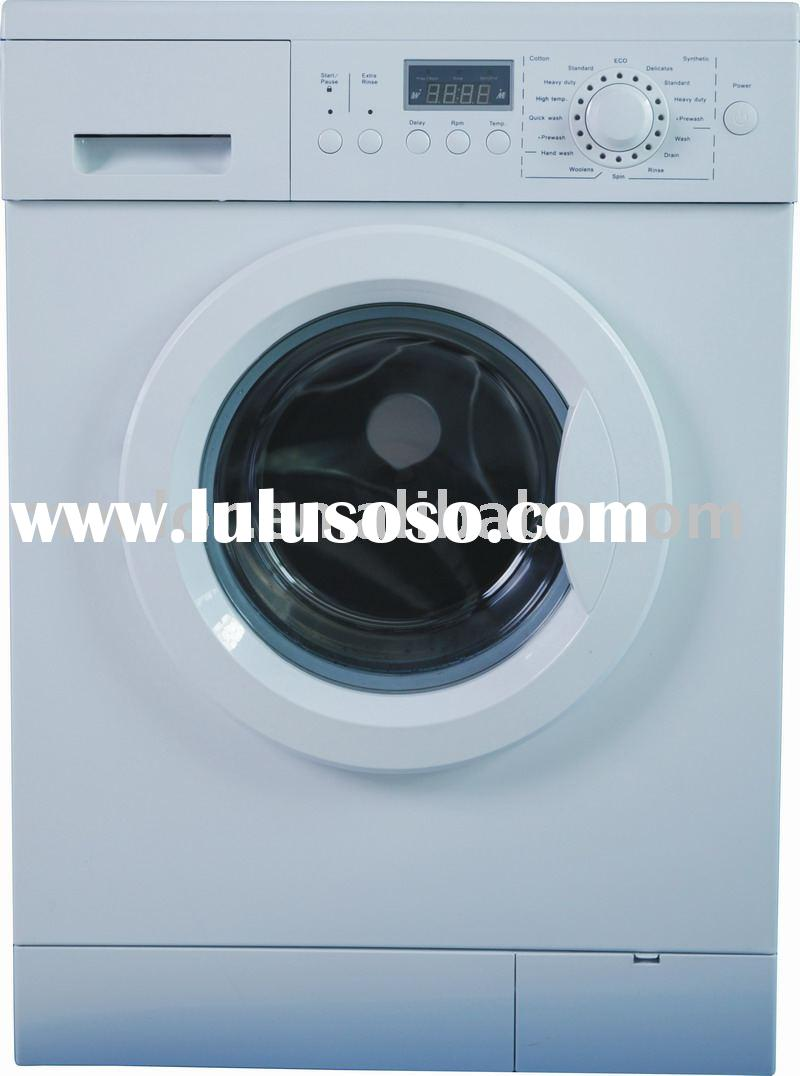 6.0KG1400RPM LCD LAUNDRY APPLIANCES front loading washing machine