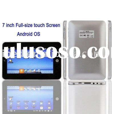 7 Inch ePad Android OS 1.72 Version tablet PC Netbook UMPC, 1.3M webcam, Support WIFI, RJ45/2 USB po