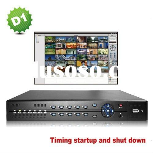 8 channel network standalone H.264 DVR support mobile monitor