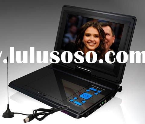 """9"""" portable DVD player with TV tuner"""