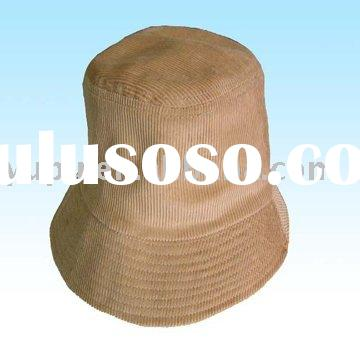 Adult Corduroy Bucket Hat Fishing Hat