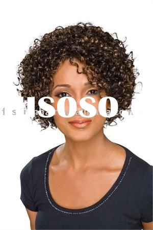 Afro wave African American wigs hair extensions