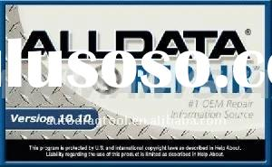 AllData 10.40 add 2011 Mitchell On Demand 5.8 On 500GB Portable Hard Drive ,free shipping and 20% di