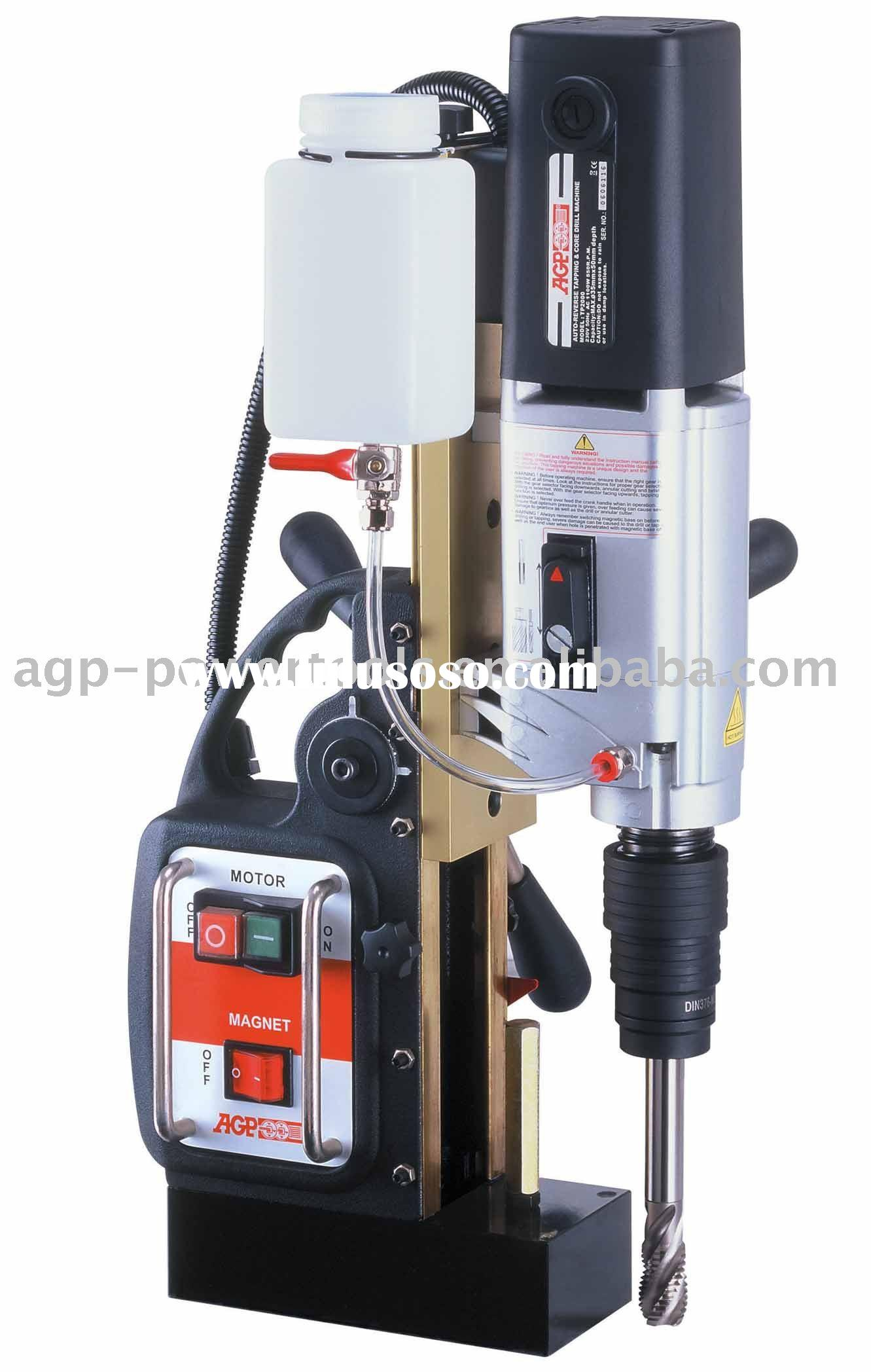 Auto Reverse-Tapping & Magnetic Core Drill Machine