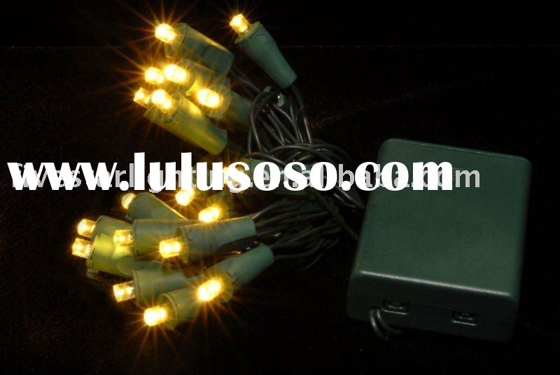 Battery operated 5mm led string lights