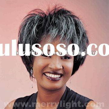 Bob synthetic hair wigs for African Americans WNCS0354