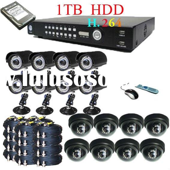 CCTV H.264 DVR 16 Channel Surveillance Security System