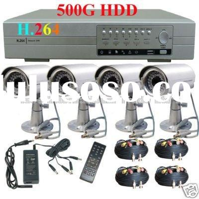 CCTV H.264 DVR 4 Channel Surveillance Security System