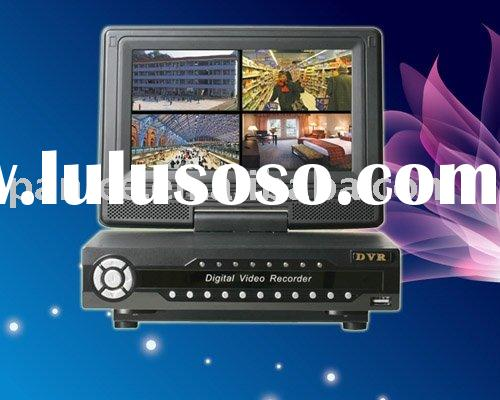 "CCTV Super DVR With 7""LCD Monitor"