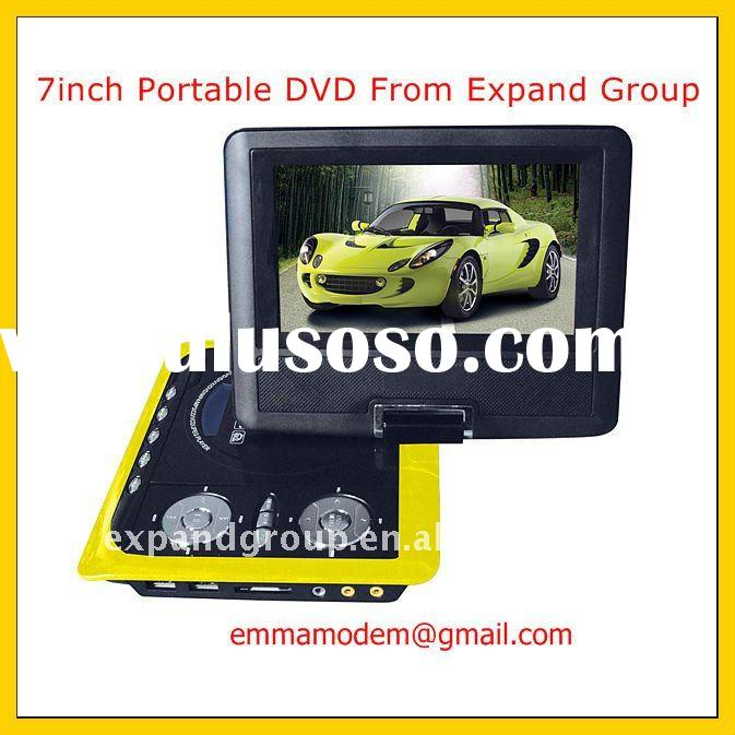 Cheap Portable DVD Player with TV