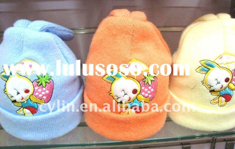 Children's acrylic knitted animal winter hats