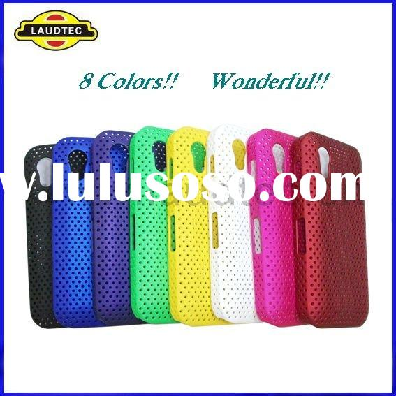 Colorful High Quality Rubberized Hard Mesh Case Cover for Samsung Galaxy Ace S5830