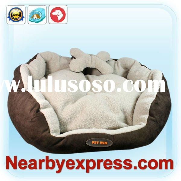 Cozy Cave Cat Dog Pet Bed Brown M PWB1002