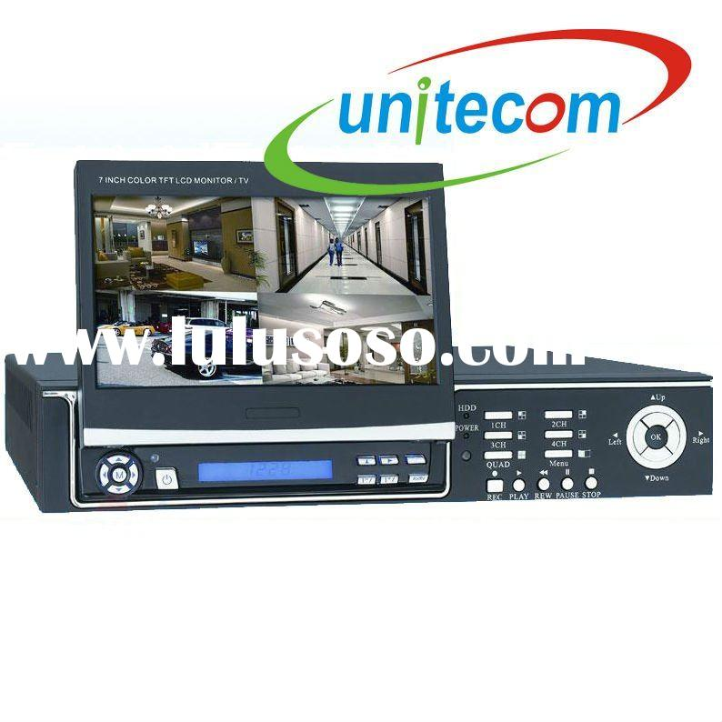 DVR with built-in LCD Monitor