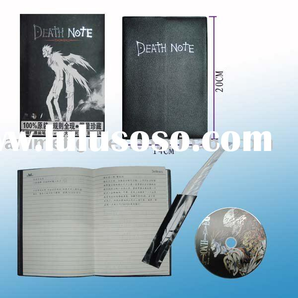 Death Note anime cosplay,anime book