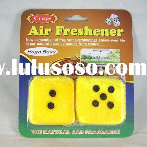 Dice Car hanging Air Freshener long lasting time gl-s001