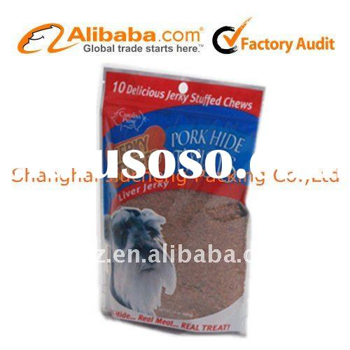 Dog food sample bag