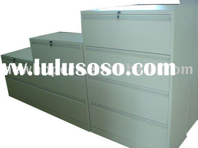 Durable Steel Lateral Filing Cabinet For 2,3,4 Drawers
