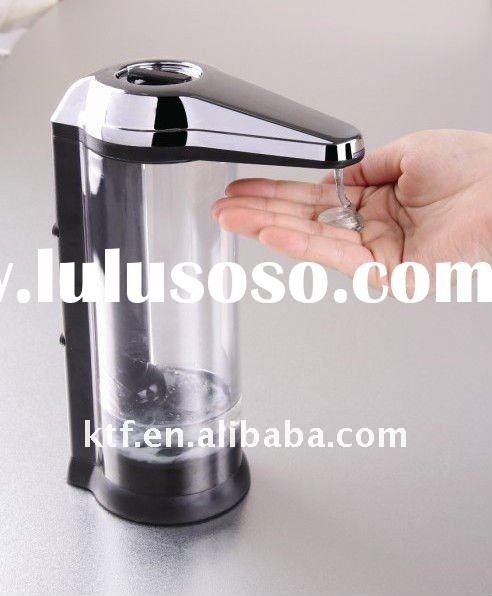 Electric soap dispenser with touch free sensor