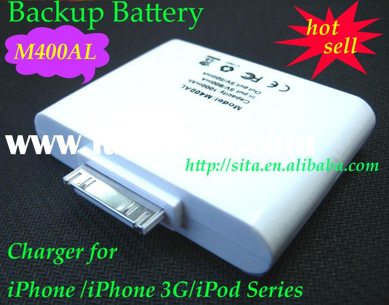 External Backup Battery Charger for iPhone /iPhone 3G/iPod Series