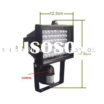 Flood Light DVR with Motion Activated Camera
