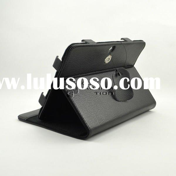 For samsung galaxy tab 8.9 P7300 stand case, leather standing case for tablet PC case samsung P7300,