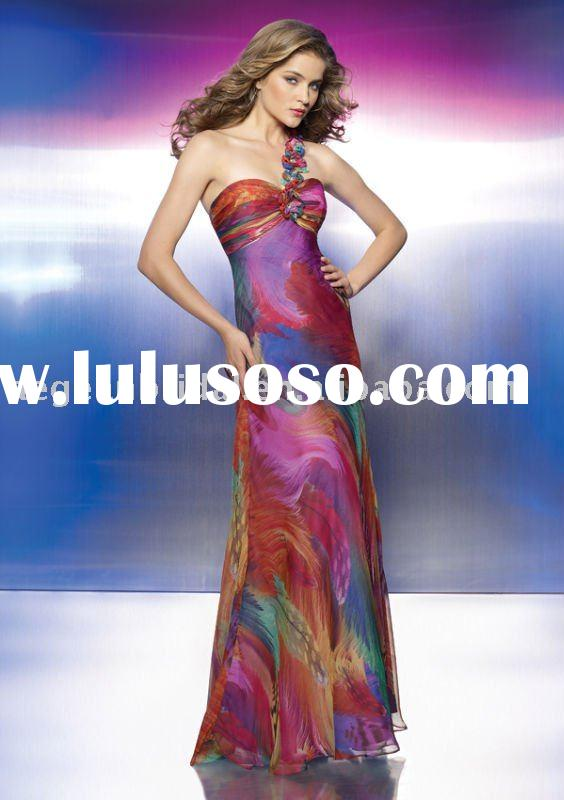 Good online Evening dress with detachable train manufacturer / online Evening dress supplier M8831