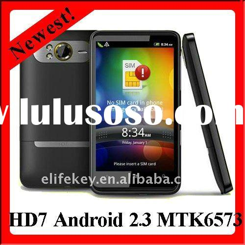 "HD7 MTK6573 4.3"" Capacitive WCDMA 3G Android 2.3 smartphone"