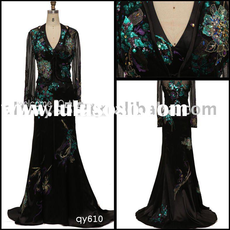 HOT SELL ladies evening dress 2011 qy610
