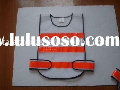 High visibility reflective Security Safety Vest/traffic police