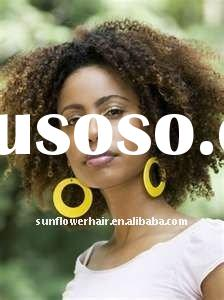 Hot sale jerry curl short Indian remy hair full lace wigs for black women