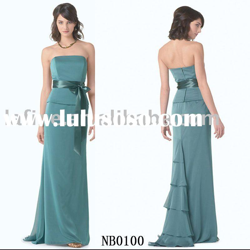 Hot sale new style cheap evening gown