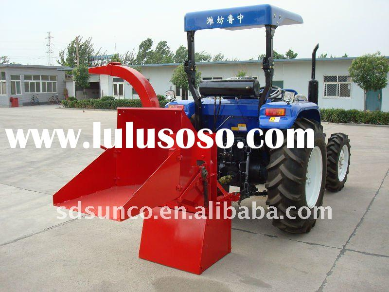 Hydraulic Wood Chipper SM04 matched with Tractor