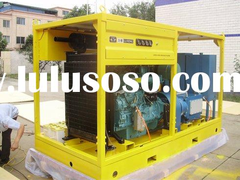 Hydro test unit LF-220/30, industrial high pressure washer, ship cleaner, water jet machine