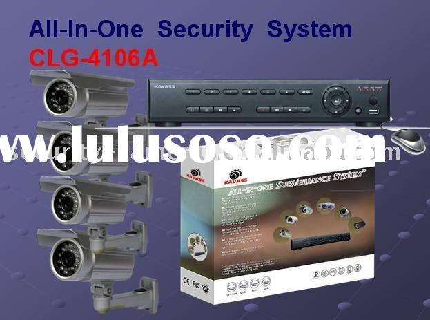 Kit CCTV Camera DVR security system CLG-4106A