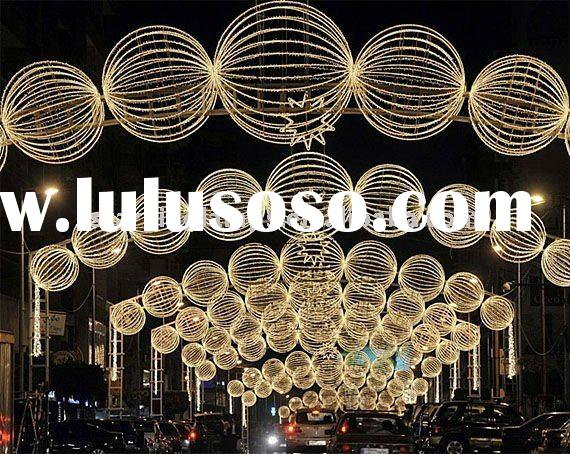 LED NEW DESIGN BIG Round Balls STREET DECORATION LIGHT/Holiday MOTIF LIGHT(CE/ROHS/SAA)