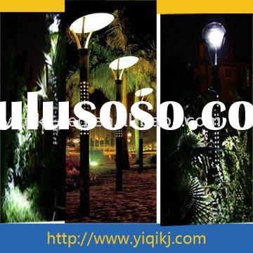 Led solar lamp outdoor