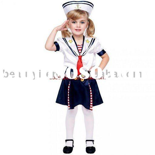 Little sailor halloween costume for girls