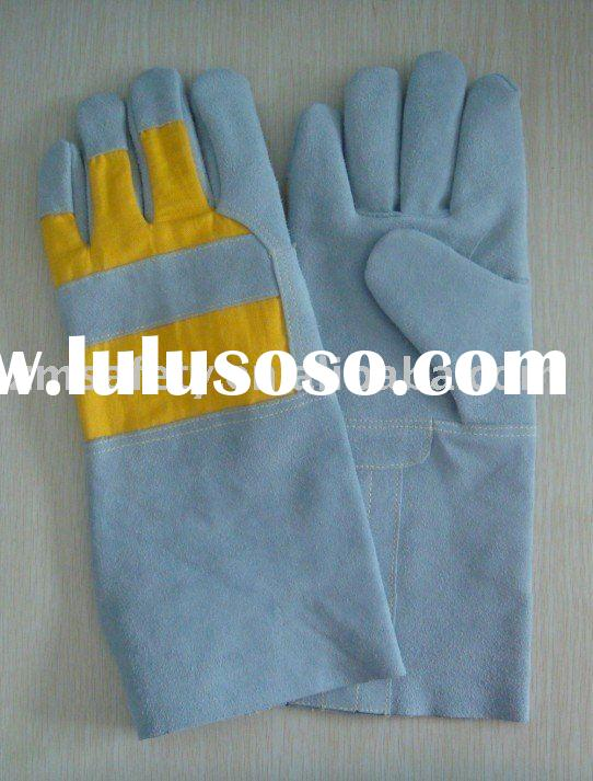 Long-sleeved Kevlar Fire resistant Welding glove