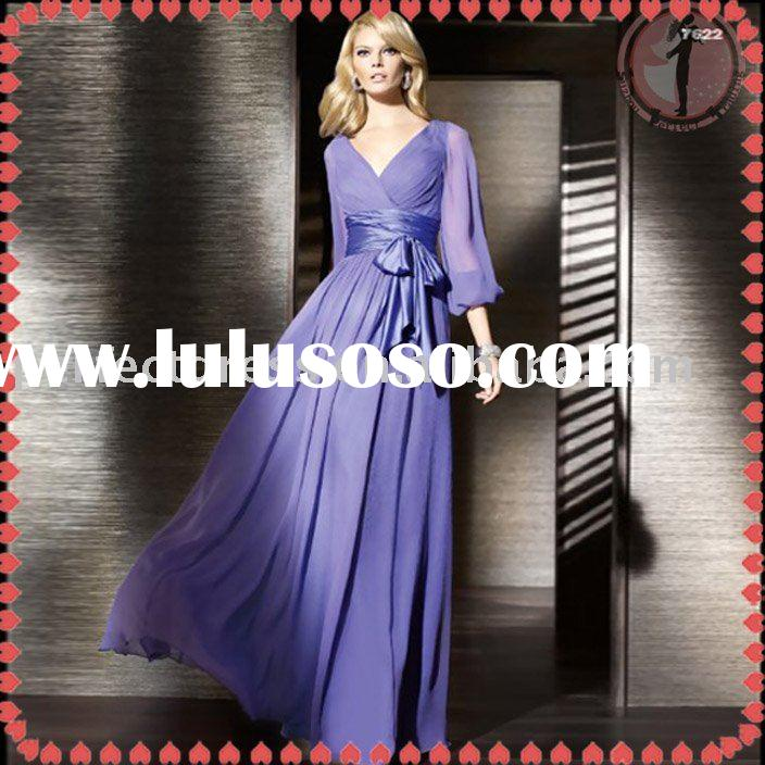 Long sleeves formal Evening Dress NSE0117