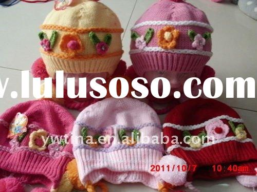 Lovely Handmade Hats and Caps/Crochet Baby Hat/Knitted Hat for Kids