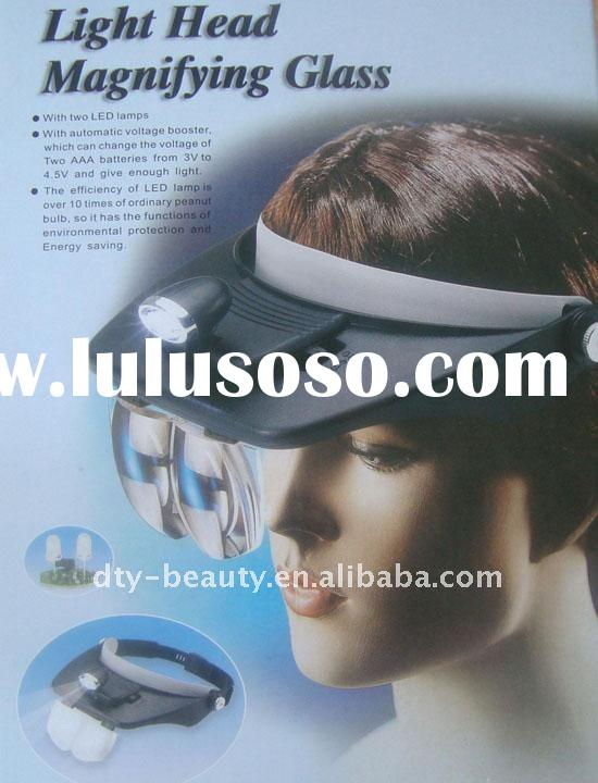 MG81001-A Light Head Magnifying Glass,beauty equipment
