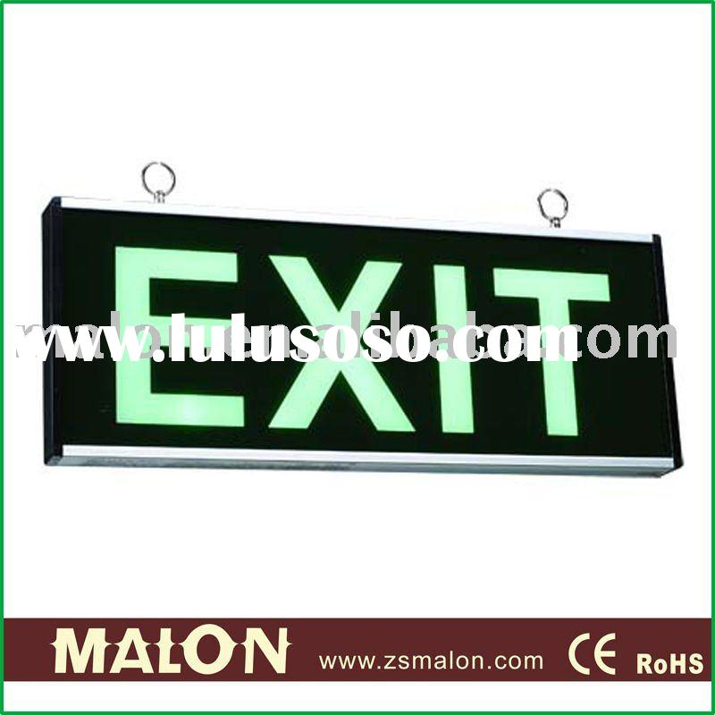 Malon ML-B021-1384 LED auto-test rechargeable emergency exit sign