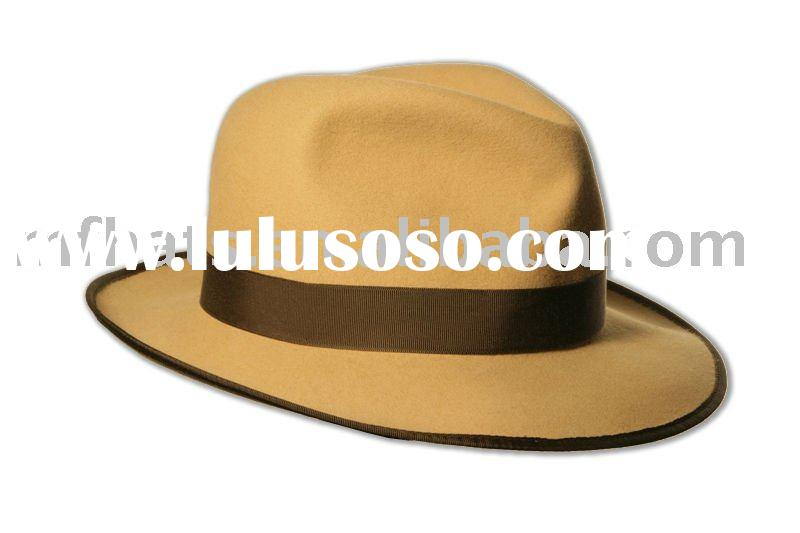 Mens Panama felt hats winter hats