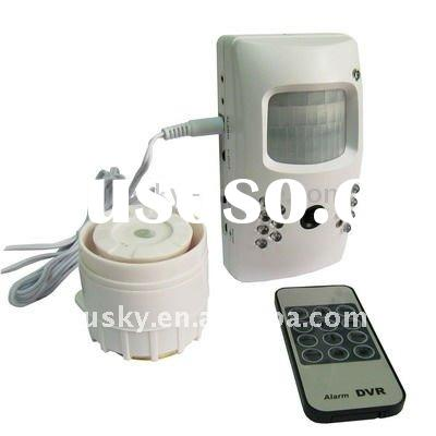 Mini Alarm DVR Camera with Remote Controller