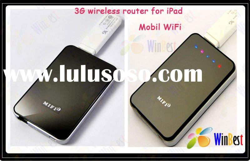 New! 3G wireless wifi router for iPad,Mobile Wi-Fi